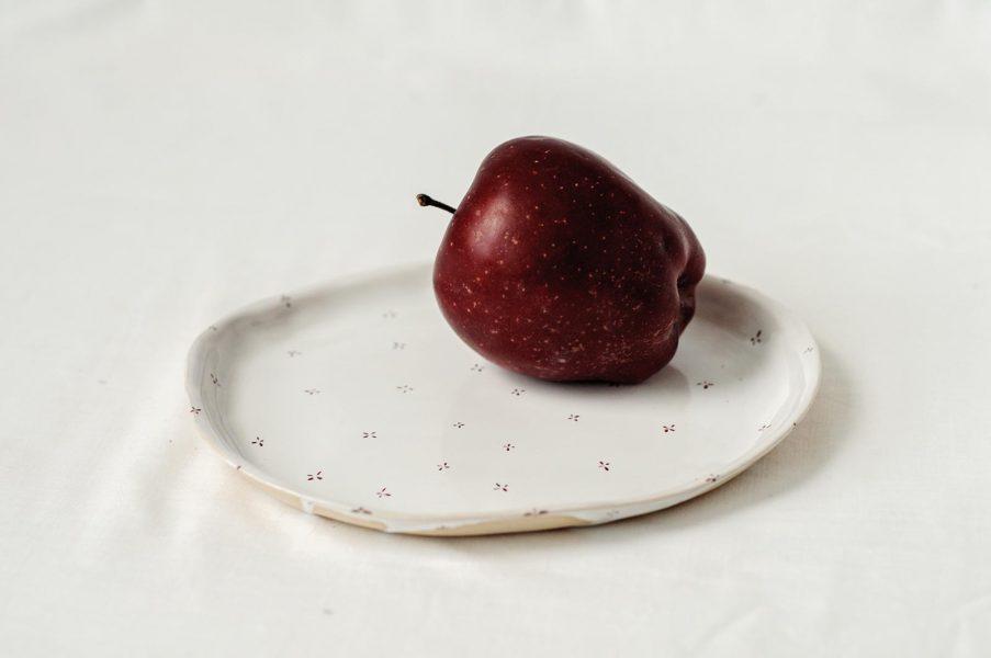 Плоские тарелки - коллекция «Цветы с молоком»