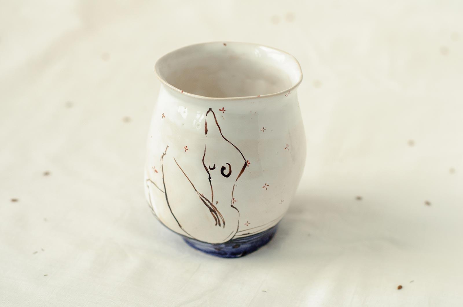 Керамический стакан (Ручная работа)