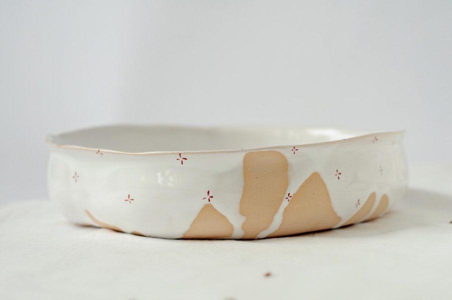 Глубокие тарелкя - коллекции «Цветы с молоком»