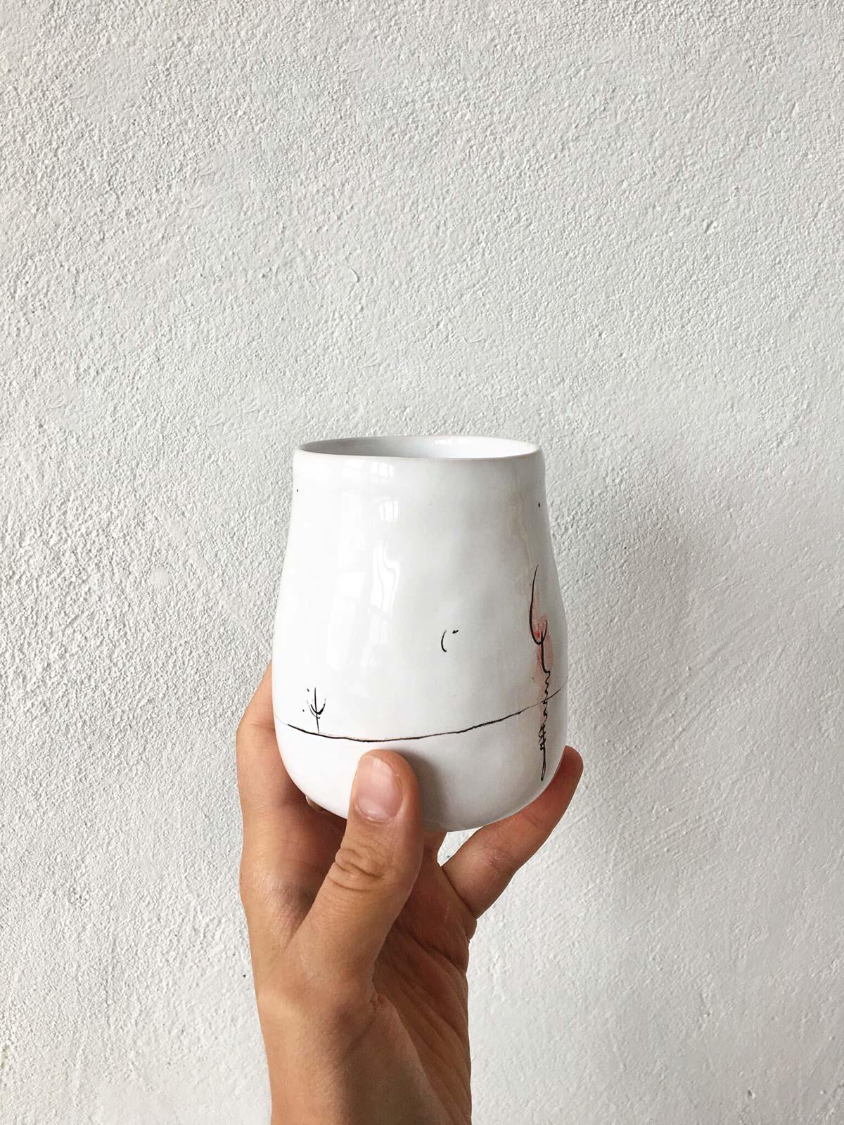 Керамический стакан № 3