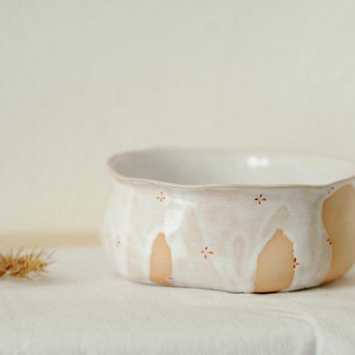 Маленькие тарелки из коллекции «Цветы с молоком»