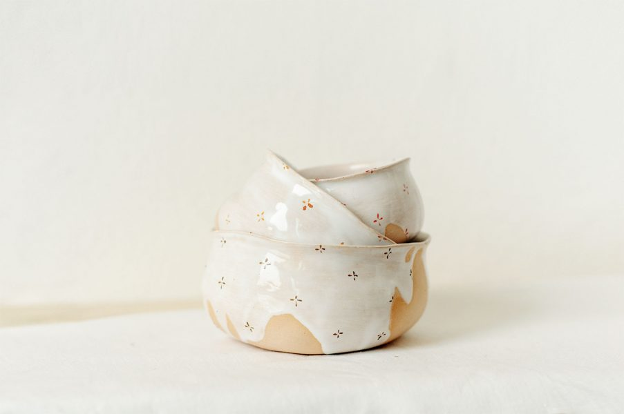 Пиалы - коллекция «Цветы с молоком»