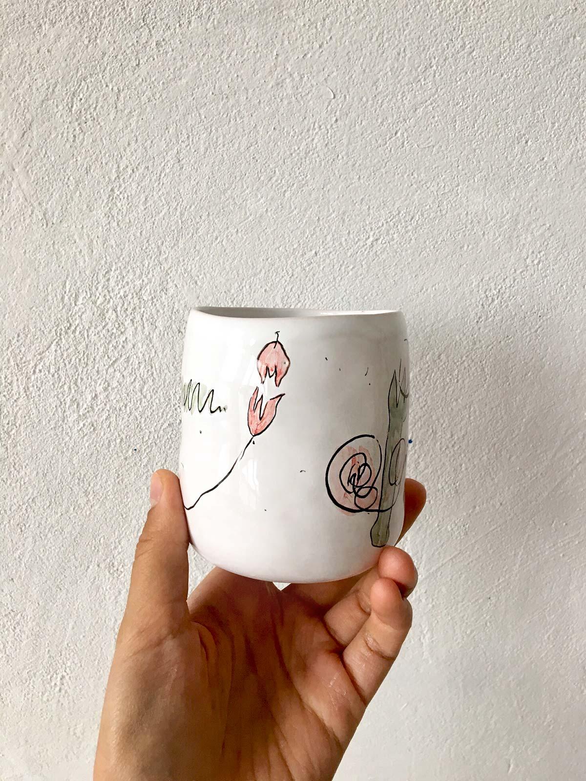 Керамический стакан № 1
