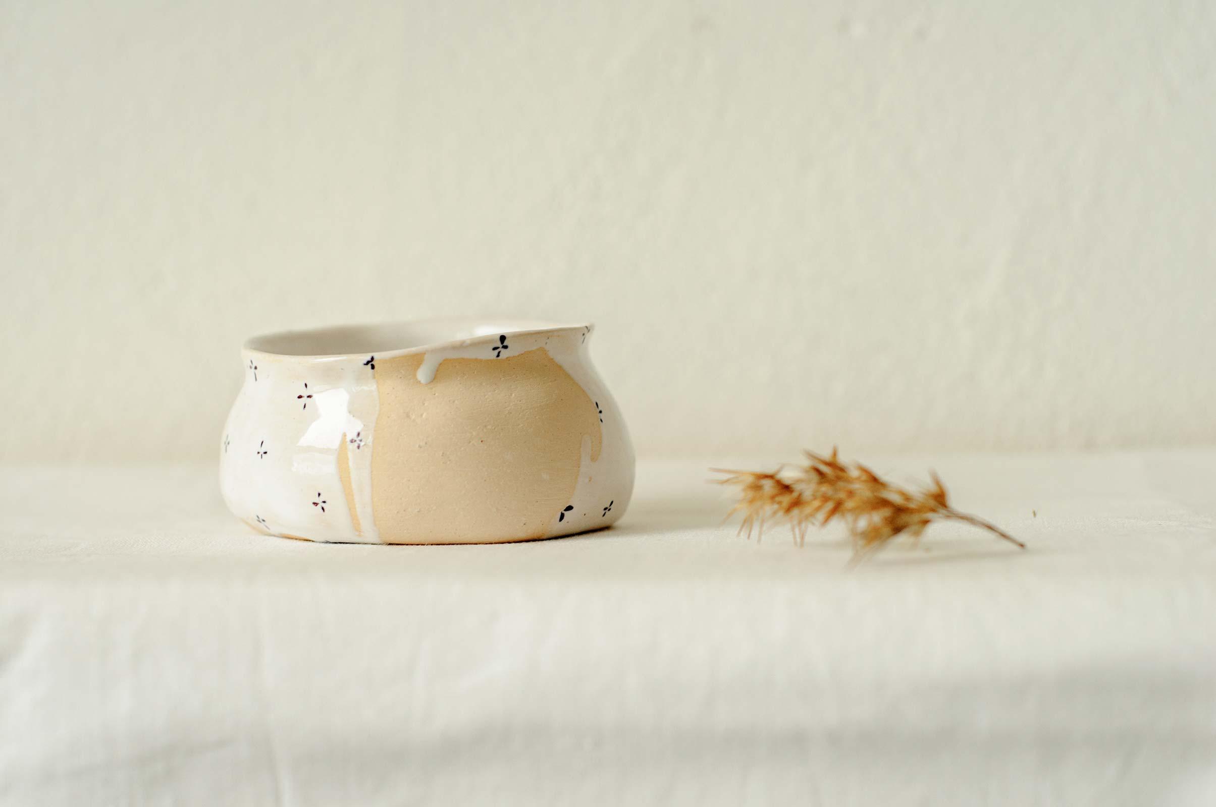 Маленькая керамическая пиала (Ручная работа)