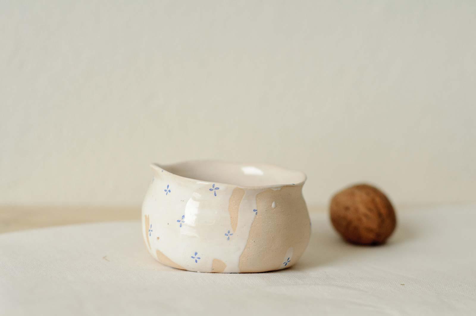 Керамическая соусник (Ручная работа)