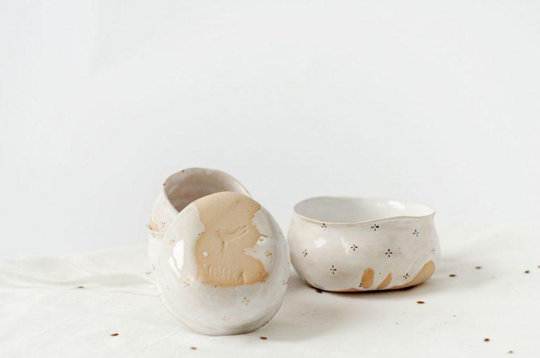 Соусники из коллекции «Цветы с молоком»