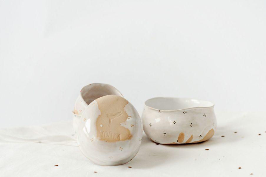 Соусники - коллекция «Цветы с молоком»