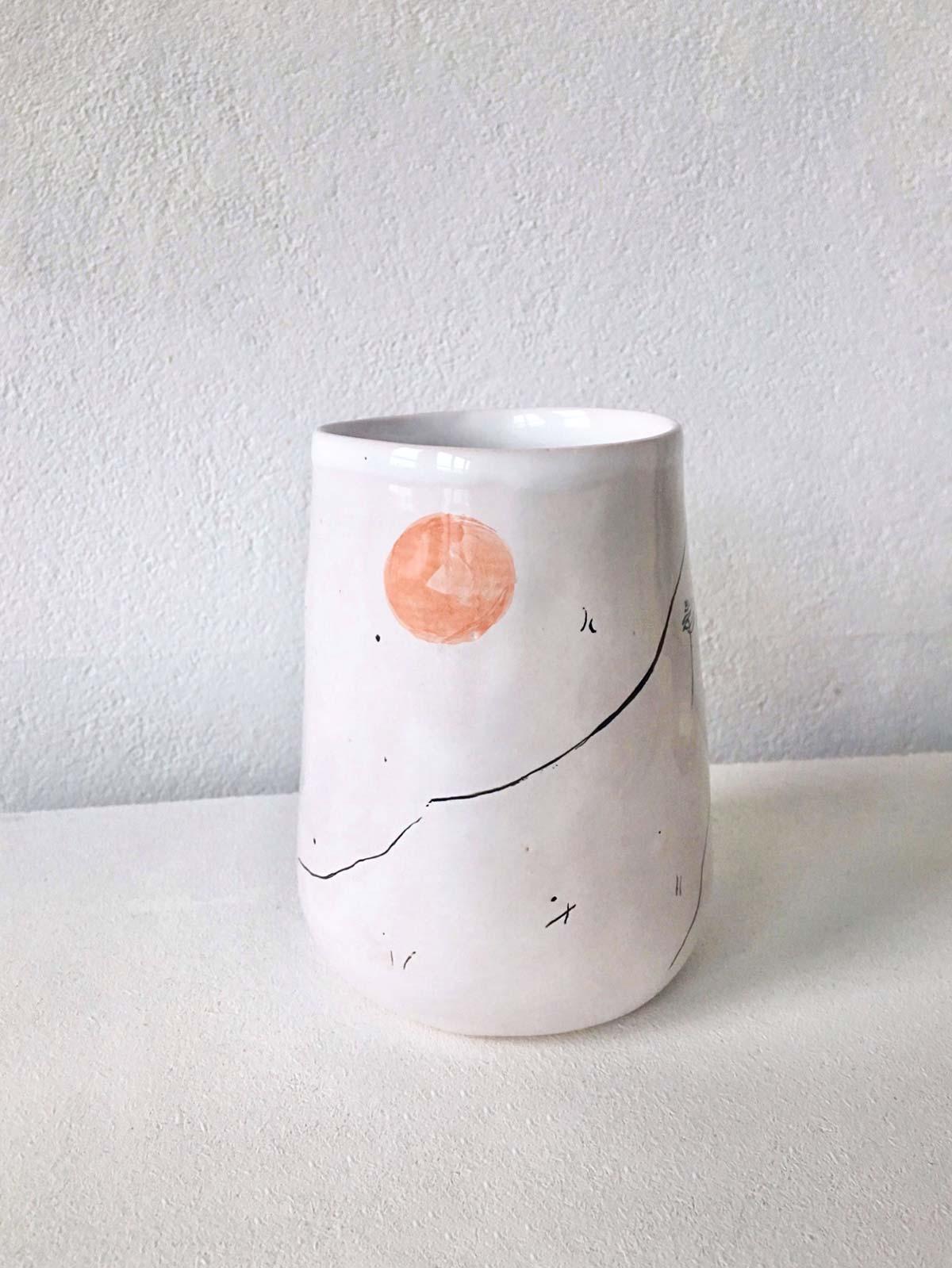 Керамический стакан № 5