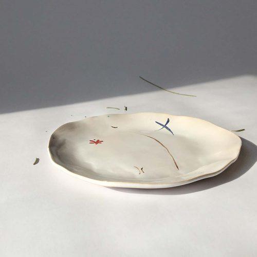 Круглая тарелка «Композиция № 3»