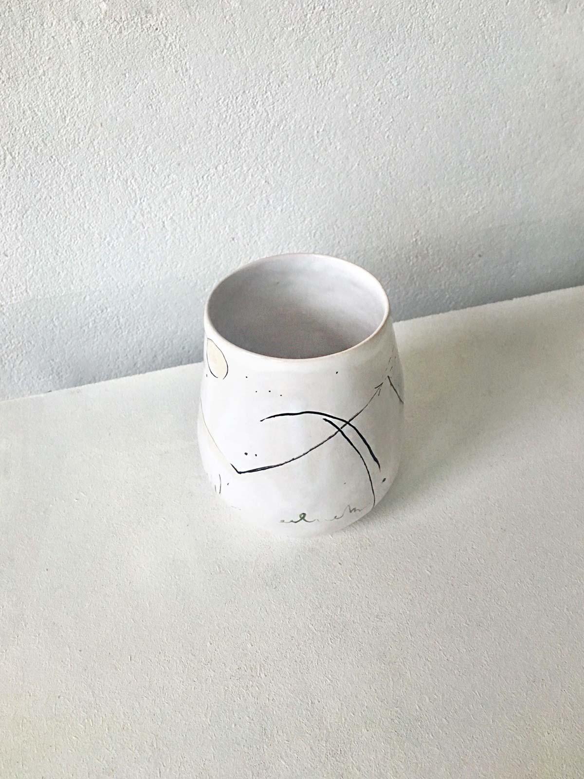 Керамический стакан № 2