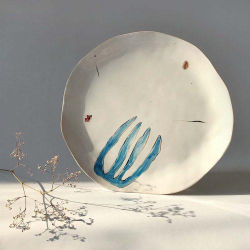 Плоская тарелка «Композиция № 5»