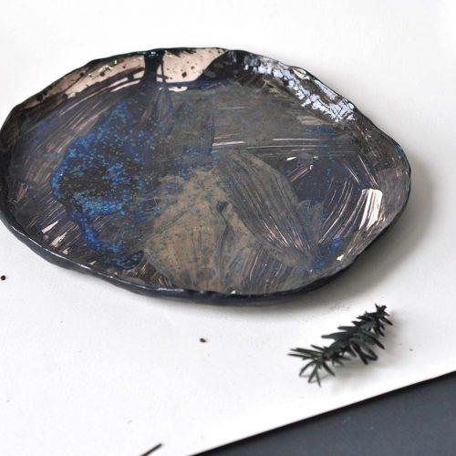 Тарелка с бортиком «Тихая бездна»