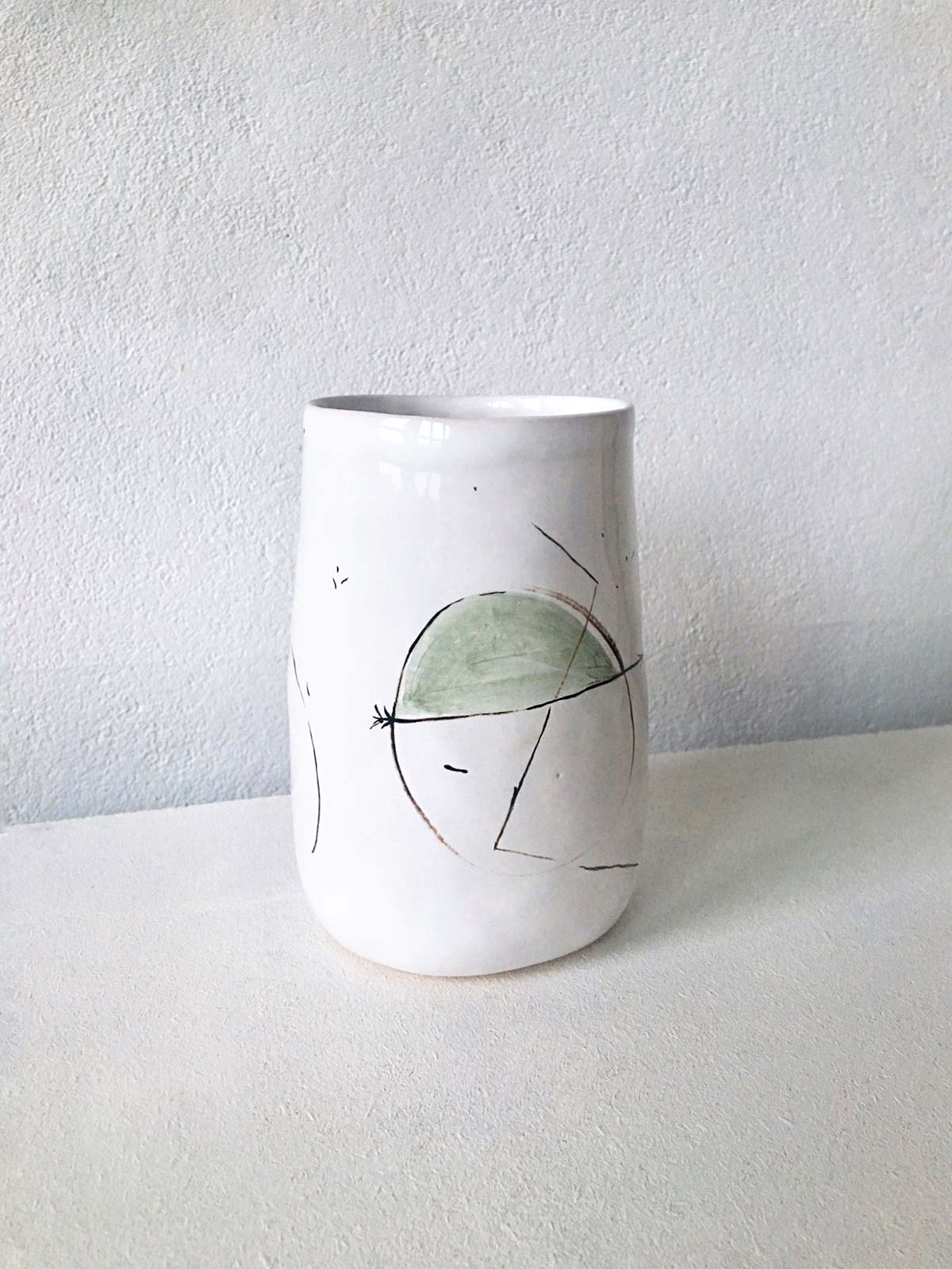 Керамический стакан № 4