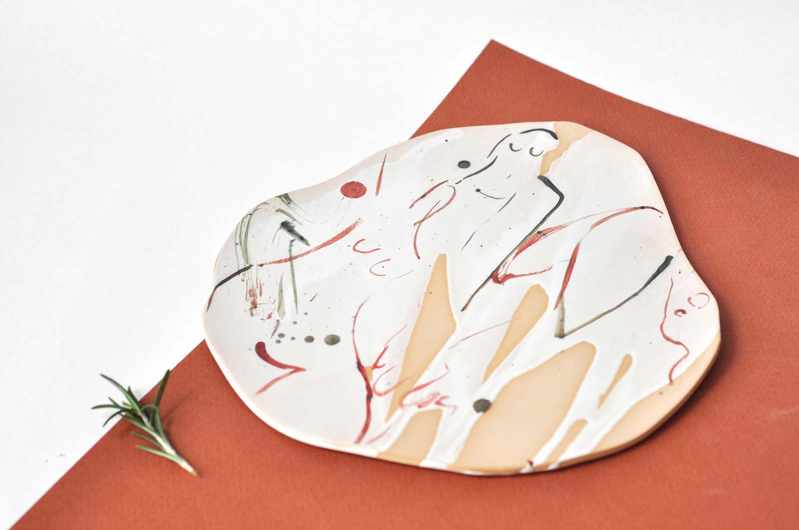 Декор - Декоративная керамическая тарелка