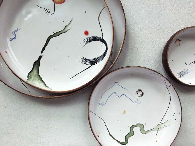 Тарелки из коллекции «Космичность»