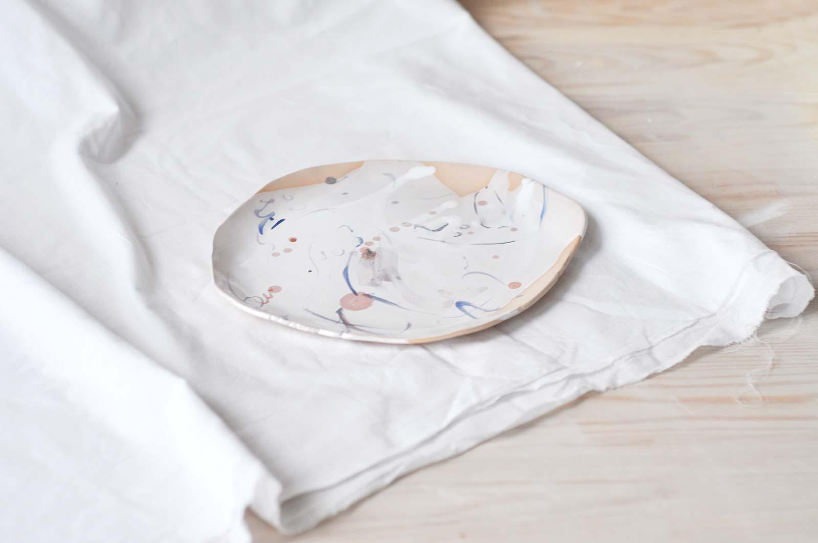 Декоративная тарелка (Ручная работа)