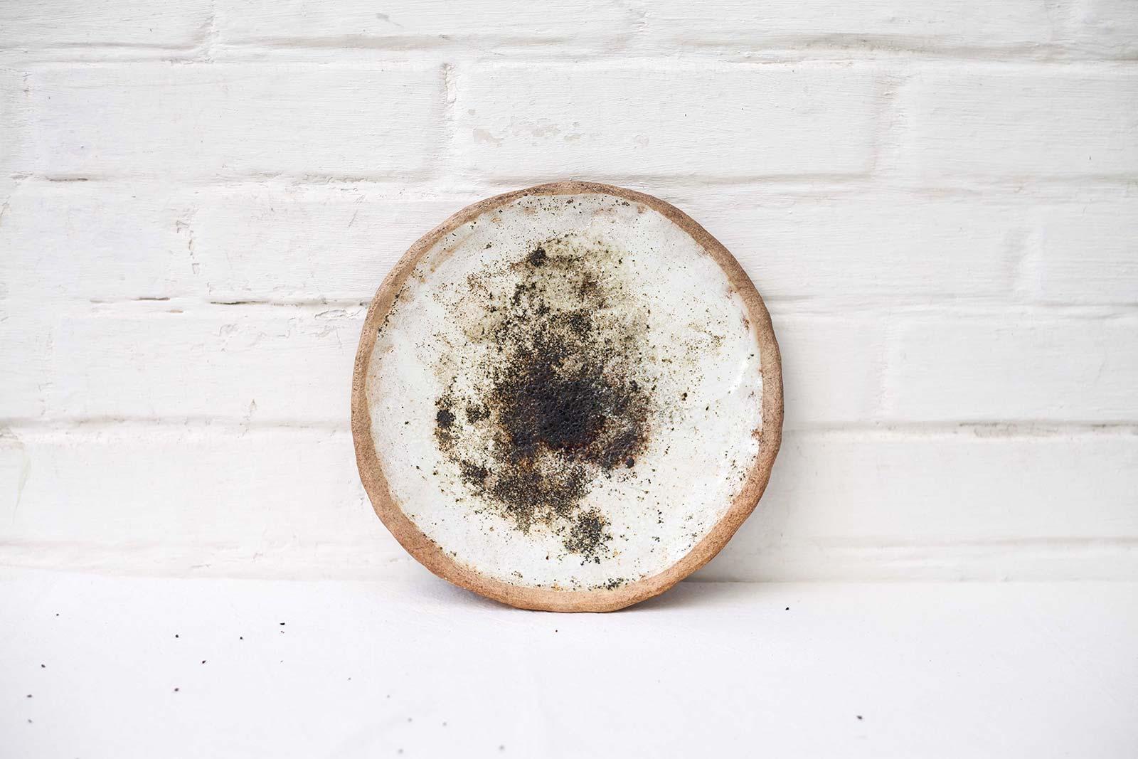 Декоративное керамическое блюдо (Ручная работа)