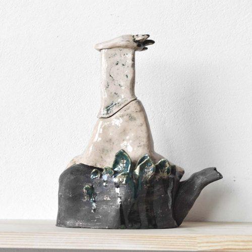 Вид сзади - Декоративный чайник (Ручная работа)