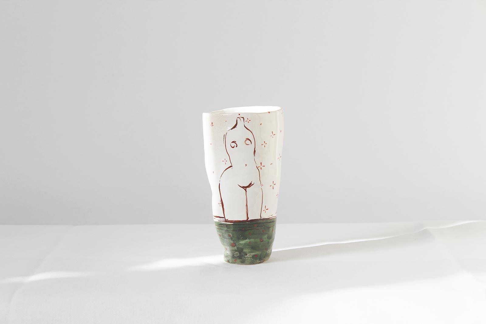 Декоративный стакан (Ручная работа)