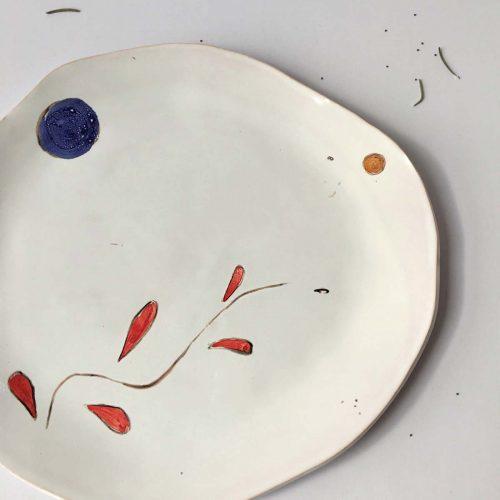 Рисунок - Плоская тарелка «Композиция № 6»