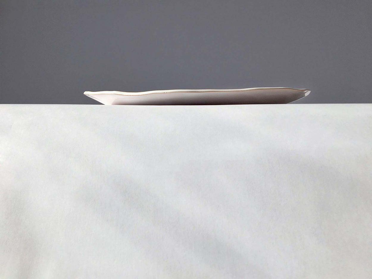 Вид сбоку - Плоская тарелка «Композиция № 6»