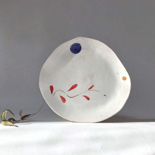 Плоская тарелка «Композиция № 6»