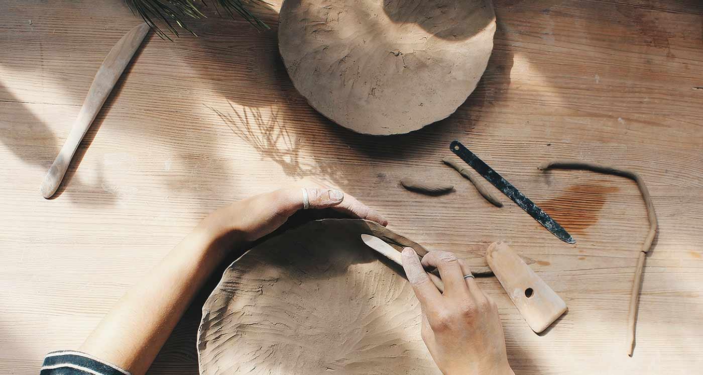 Мастер-классы и учебные курсы по керамике: Ручная лепка из глины