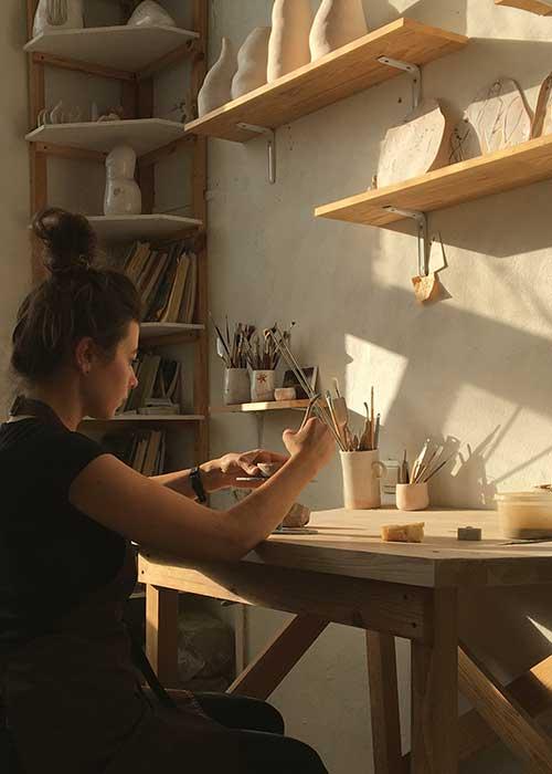 Двухдневный мастер-класс по керамике