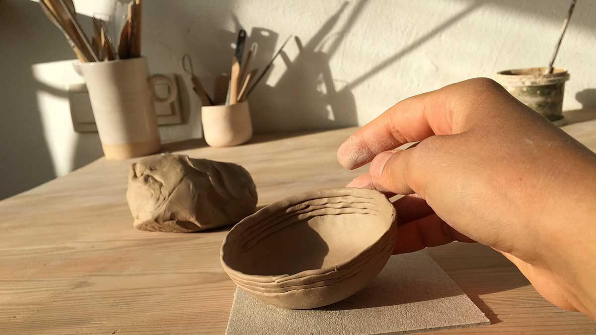 Двухдневный мастер-класс по лепке из глины