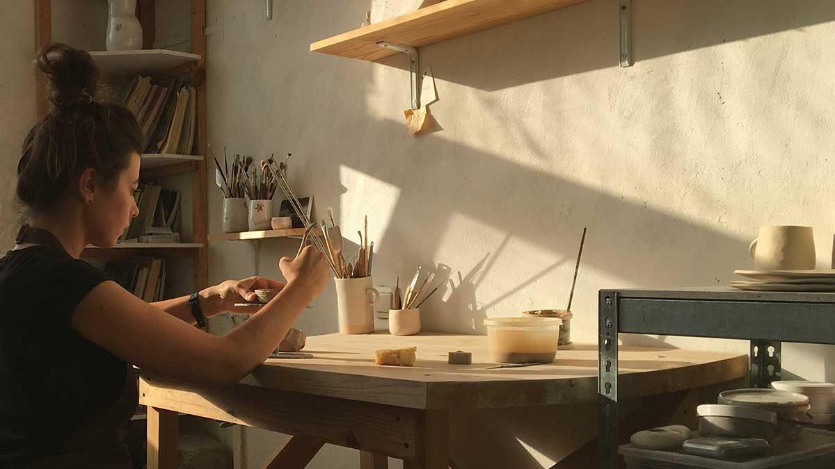 Учебный курс по ручной лепке из глины